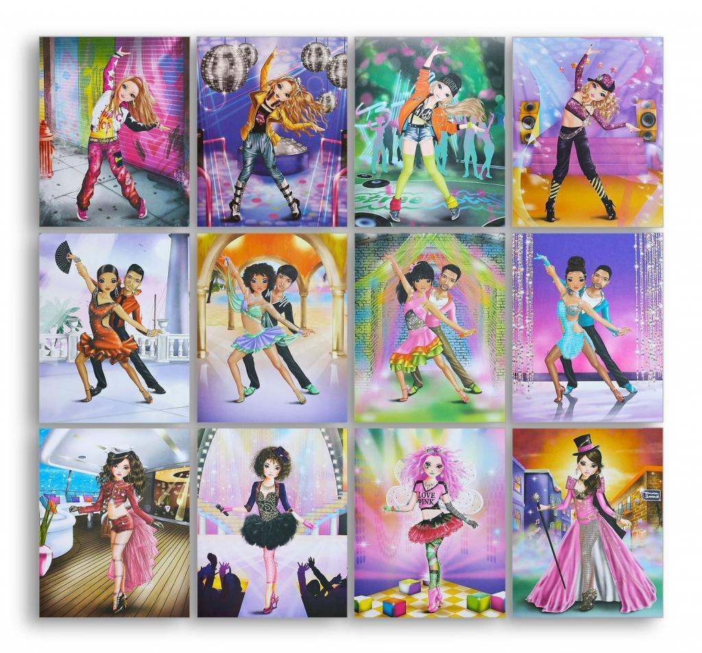 Top Model Dance Colouring Book Depesche Fox And Lantern