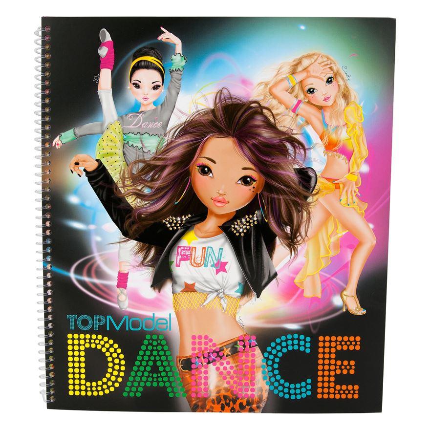 Top model dance colouring book depesche fox and lantern for Top mobel
