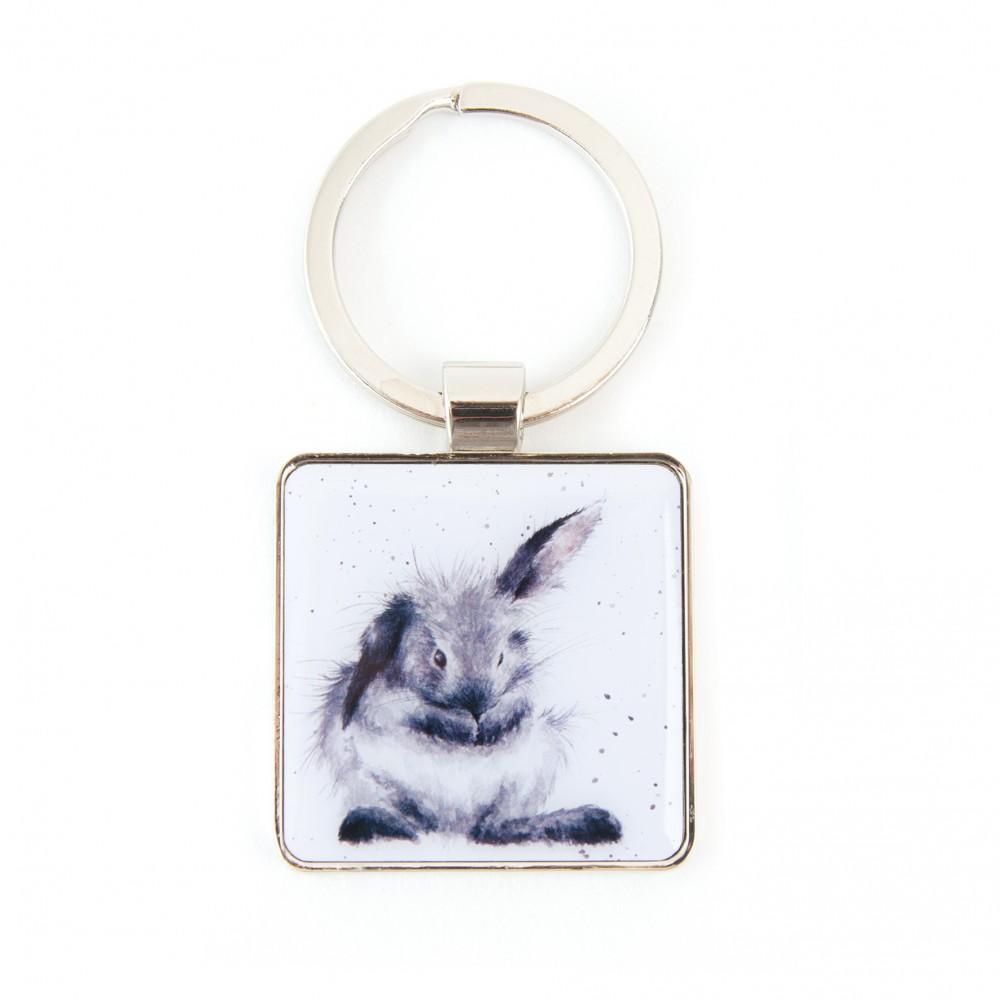 Bathtime Bunny Rabbit Keyring Wrendale Designs Fox And