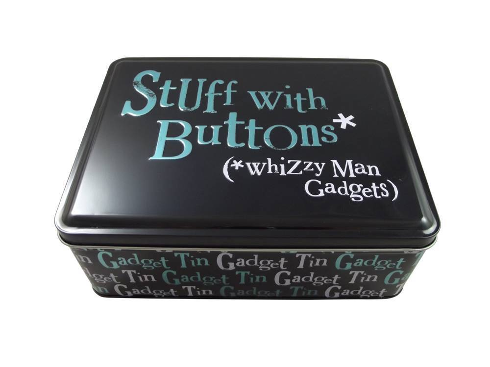 Stuff With Buttons Whizzy Man Gadgets Tin The Bright