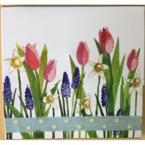 Flowers Magnetic Notepad - Alex Clark Art