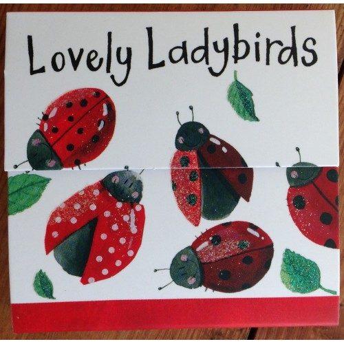 Lovely Ladybirds Magnetic Notepad - Alex Clark Art