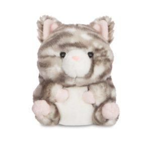Rolly Pets Lucky Grey Tabby Cat - Aurora World