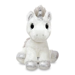 Sparkle Tales Silver Twilight Unicorn, 12 inch - Aurora World