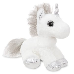Aurora World Sparkle Tales Princess Unicorn 30cm White New With Tags