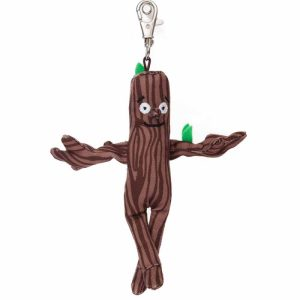 Stick Man Keyring / Backpack Clip - Aurora World