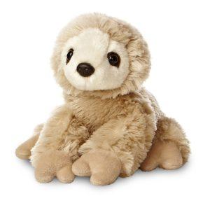 Aurora World Mini Flopsie Sloth - 8 Inch