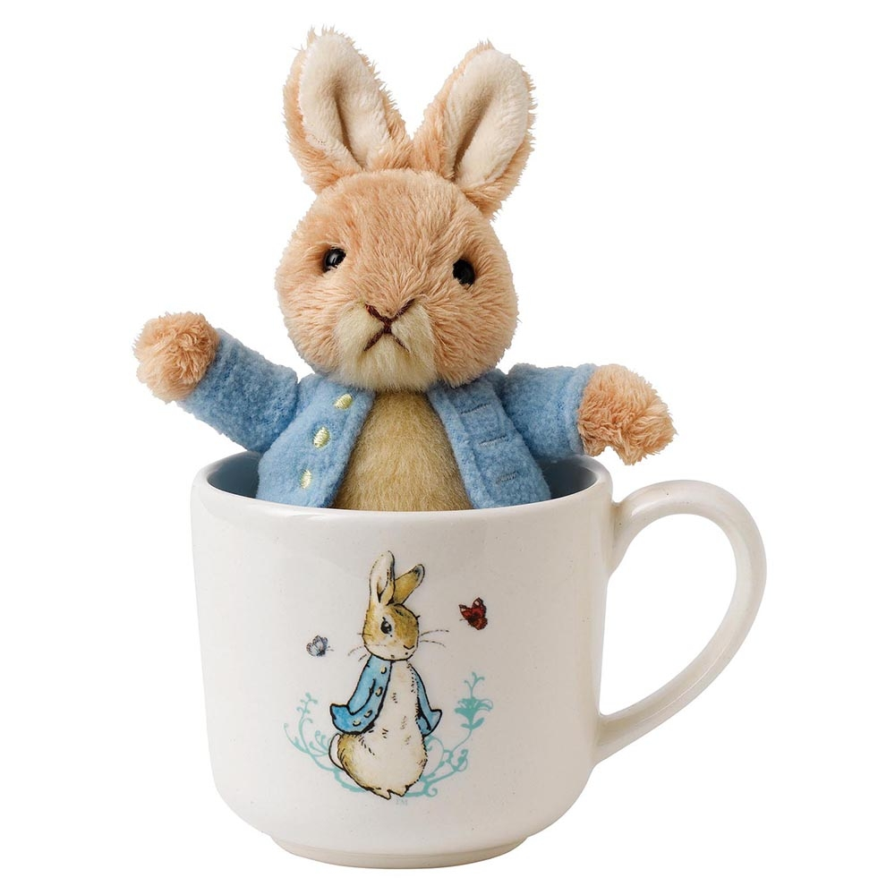 Peter Rabbit Toy and Mug Gift Set - Beatrix Potter