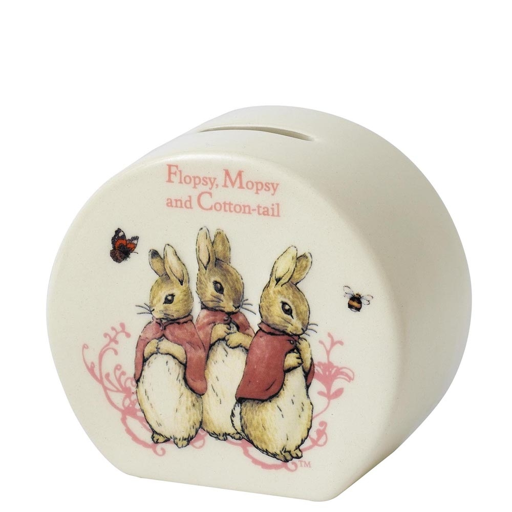 Money Bank - Flopsy, Mopsy and Cottontail - Beatrix Potter