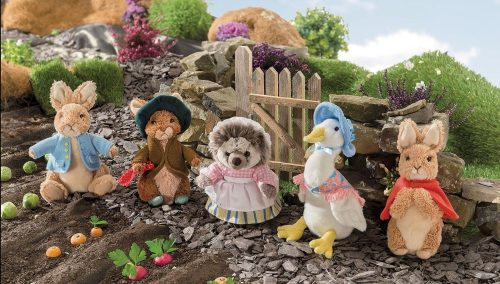 Peter Rabbit Medium Soft Toy - Beatrix Potter