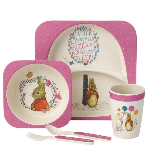 Flopsy Organic Dinner Set - Beatrix Potter