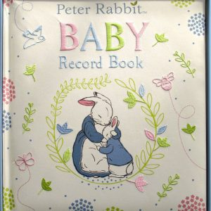 Peter Rabbit Baby Record Book - Beatrix Potter