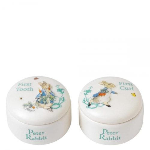Peter Rabbit First Tooth and Curl Box - Beatrix Potter