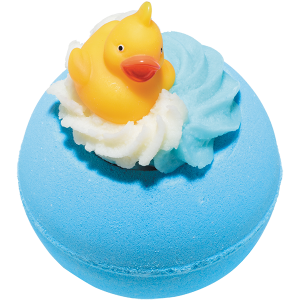 Pool Party Bath Bomb with Rubber Duck, 160g - Bomb Cosmetics