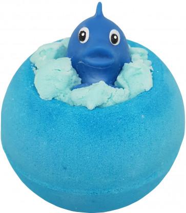 Splash! Bath Bomb with Toy Dolphin, 160g - Bomb Cosmetics