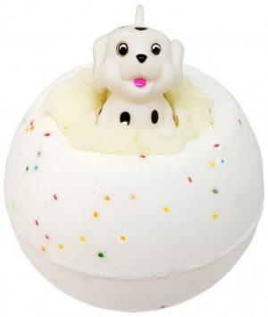 Spot On Bath Bomb with Toy Dog, 160g - Bomb Cosmetics