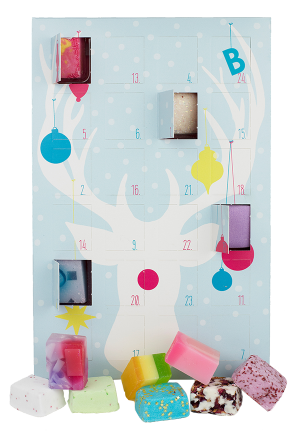 Countdown to Christmas Advent Calendar Gift Pack - Bomb Cosmetics