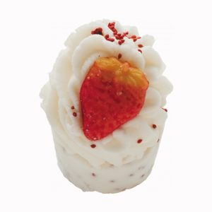 Wild Strawberry Bath Mallow, 50g – Bomb Cosmetics