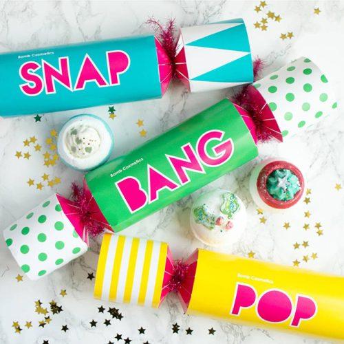 Snap Cracker Gift Pack - Bomb Cosmetics