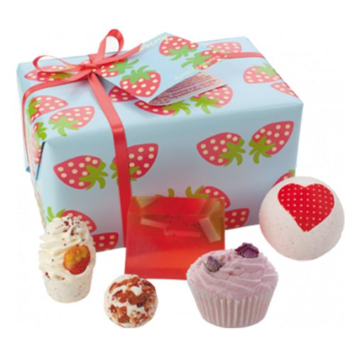 Strawberry Patch Gift Pack - Bomb Cosmetics