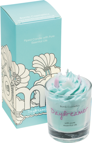 Daydreamer Piped Candle - Bomb Cosmetics