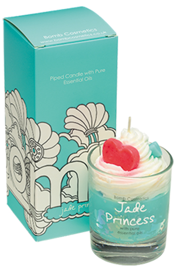 Jade Princess Piped Candle - Bomb Cosmetics