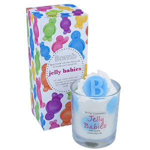 Jelly Babies Piped Candle - Bomb Cosmetics
