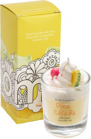 Pina Colada Piped Candle - Bomb Cosmetics