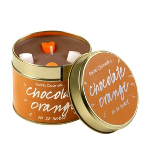 Chocolate Orange Tinned Candle - Bomb Cosmetics