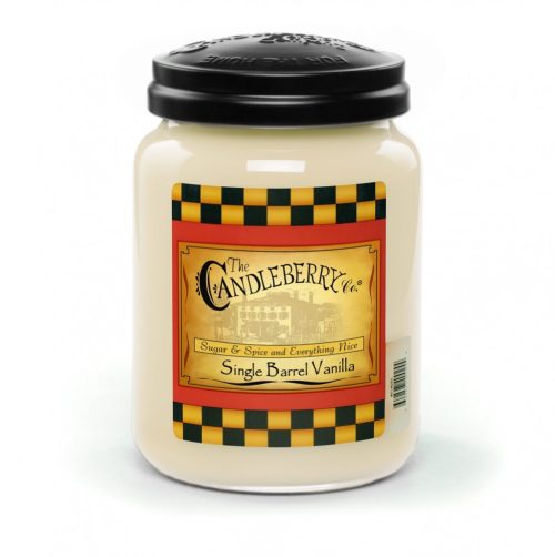 Single Barrel Vanilla - Candleberry Candles