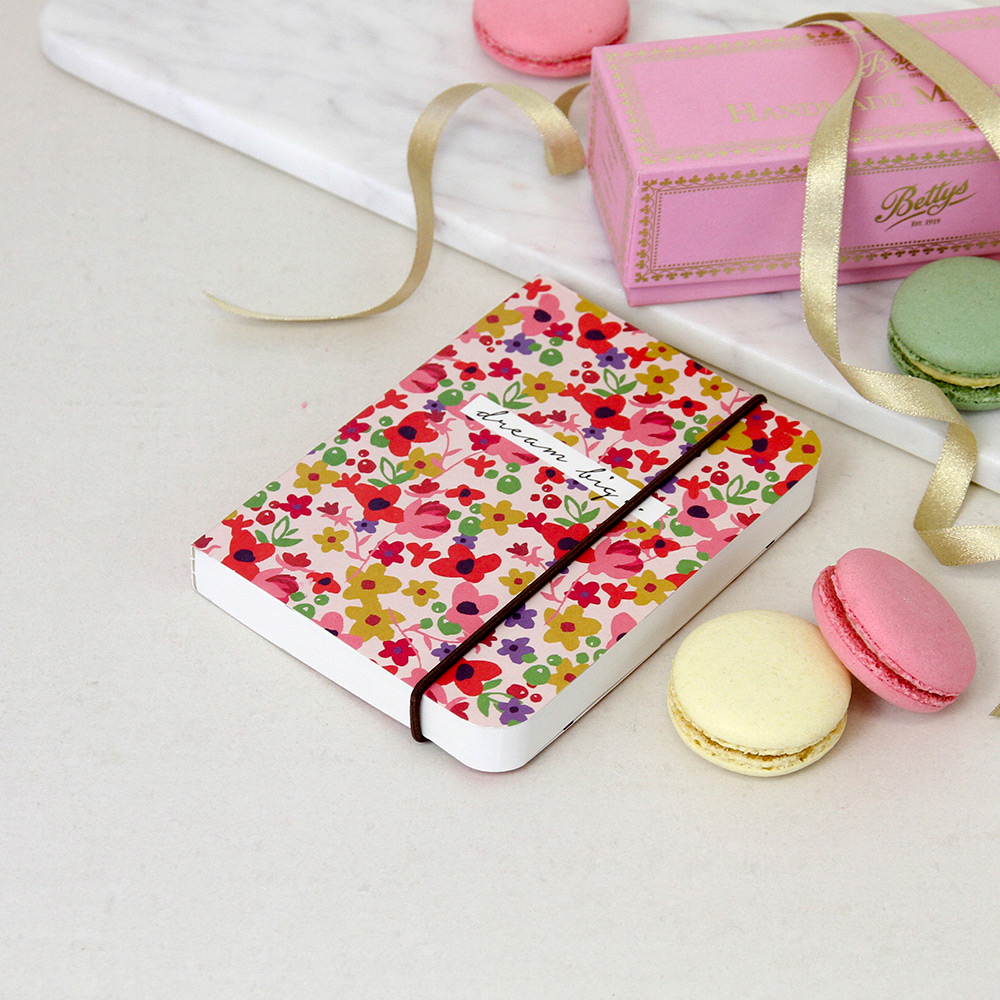 Ditsy Floral A6 Small Chunky Notebook