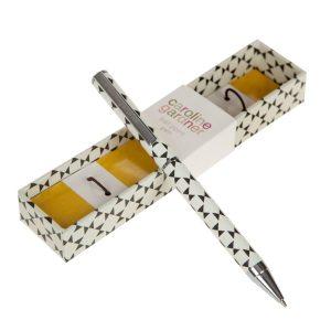 Geo Boxed Pen - Caroline Gardner