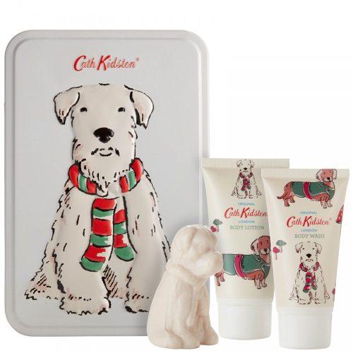 Cath Kidston - Stanley Dog Toiletry Tin Gift Set
