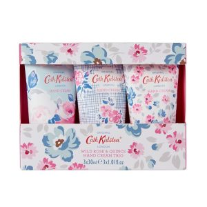 Cath Kidston - Wild Rose and Quince Mini Hand Cream Trio 3 x 30ml