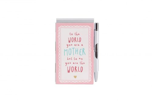 Most Amazing Mum Pink Notebook and Pen