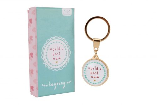 World's Best Mum Keyring