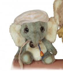 Gozy Elephant - Katya Bespalova - Clemens Bears