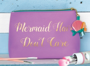 Mermaid Hair Dont Care Makeup Bag - Cloud Nine