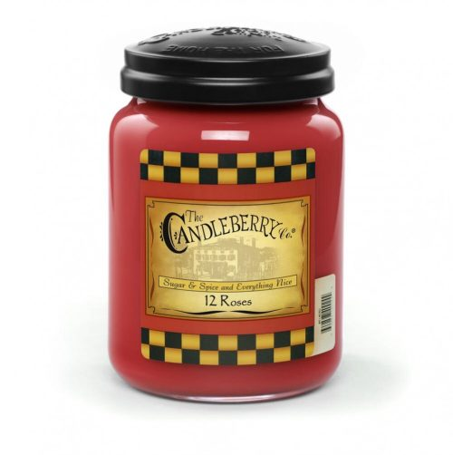 12 Roses - Candleberry Candles