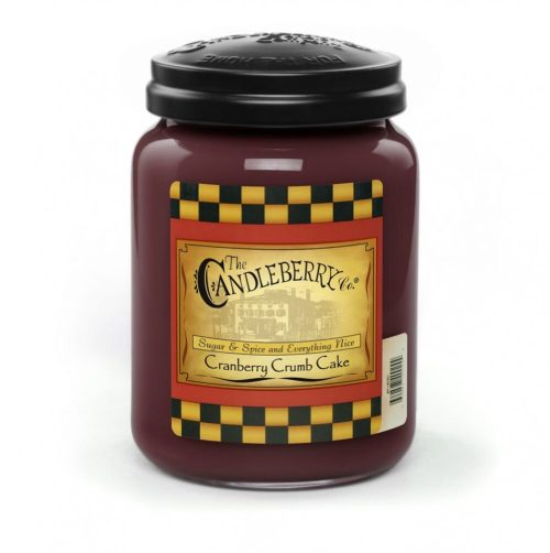 Cranberry Crumb Cake - Candleberry Candles
