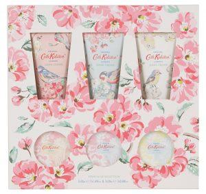 Cath Kidston - 6 Assorted Blossom Birds Hand & Lip Care Gift Set