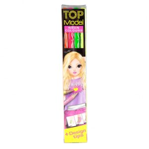 Top Model Neon Colouring Pencils - Depesche