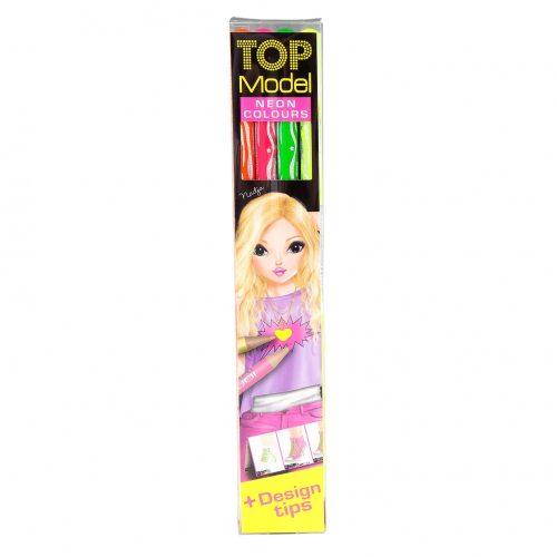 Top Model Neon Colouring Pencils - Depesche