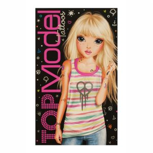 Top Model Temporary Tattoos Book - Depesche