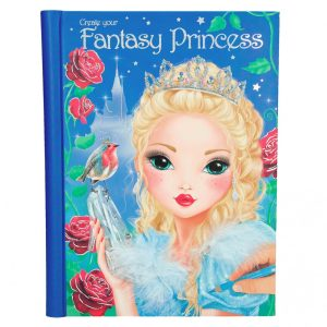 TOP Model Create your Fantasy Princess Colouring Book - Depesche