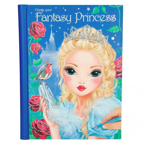 TOP Model Create your Fantasy Princess Colouring Book - Depesche