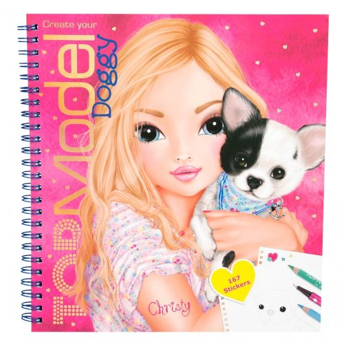 Create Your TOP Model Doggy Colouring Book - Depesche