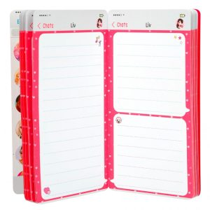 TOP Model Mobile Notebooks with Lenticular (Pink) - Depesche