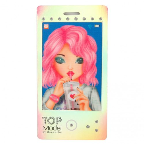 TOP Model Mobile Notebooks with Lenticular (Silver) - Depesche