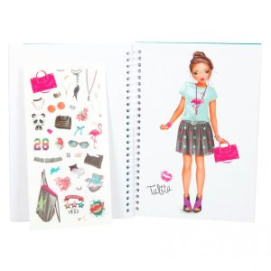 Pocket TOP Model 3D Colouring Book (Candy 7857-H) - Depesche